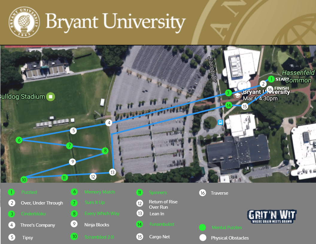 Bryant University Grit N Wit
