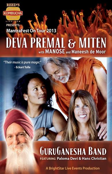 Deva Premal  Miten and GuruGanesha Band Boston MA