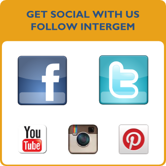 Get Social With Us. Follow InterGem.