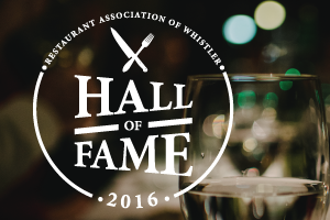 Whistler Restaurant Hall of Fame Launches
