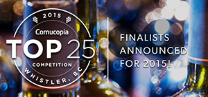Cornucopia Puts its Best 'Vintage' Forward Announcing the Festival's Top 25 Wines