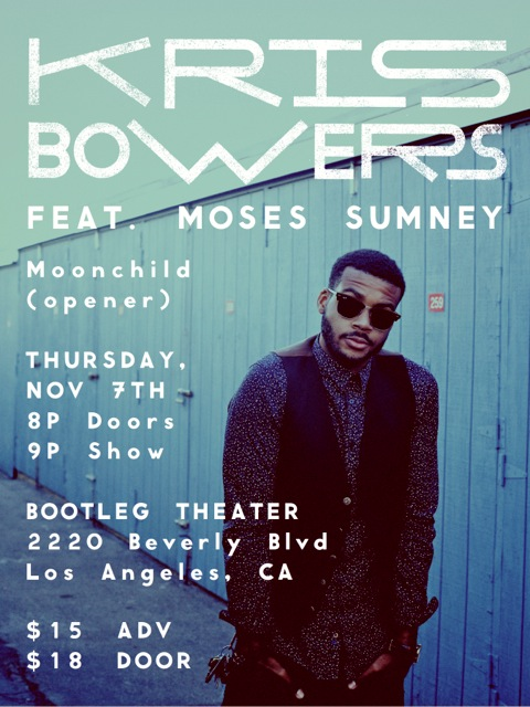 Kris Bowers featuring special guest Moses Sumney