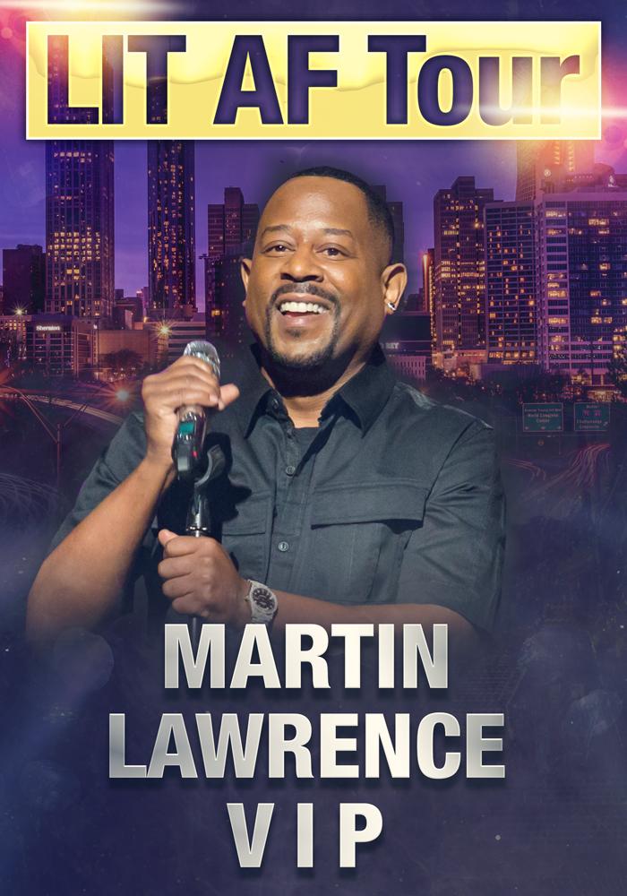 Martin Lawrence VIP Upgrades - New Orleans, LA 11/30 :: OMG VIP