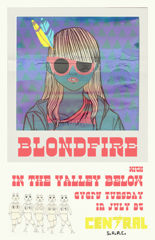 launderground Presents Blondfire w SECRET GUEST In The Valley Below Bodhi  SECRET GUEST DJ Set
