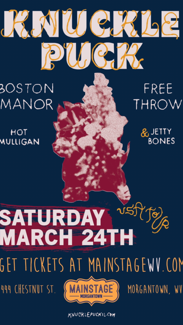Knuckle Puck, Boston Manor, Free Throw, Hot Mulligan & Jetty