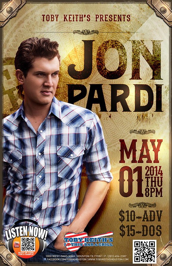 Jon Pardi  Houston TX