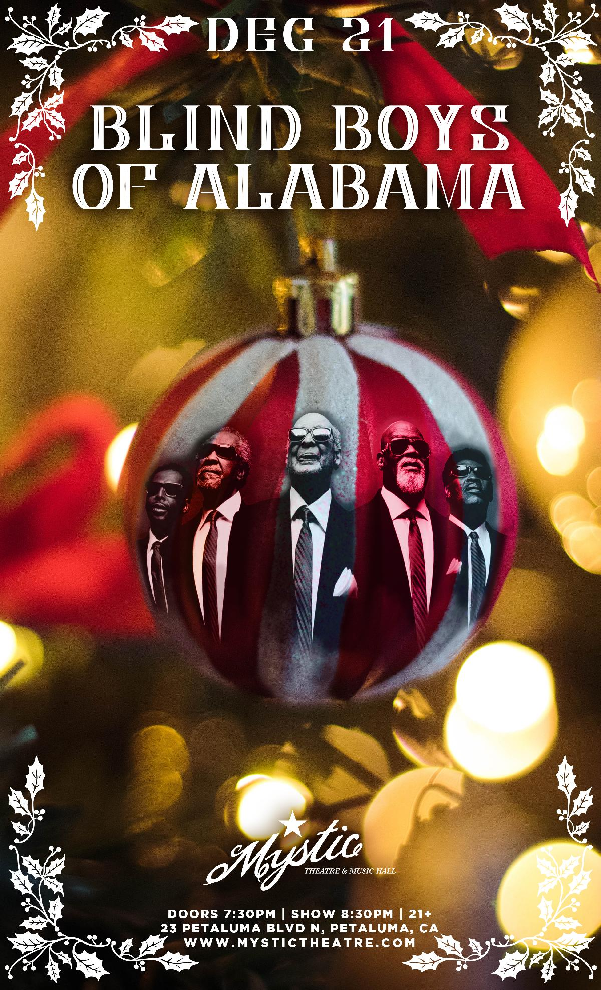Alabama Christmas.Blind Boys Of Alabama Christmas Show Mystic Theatre