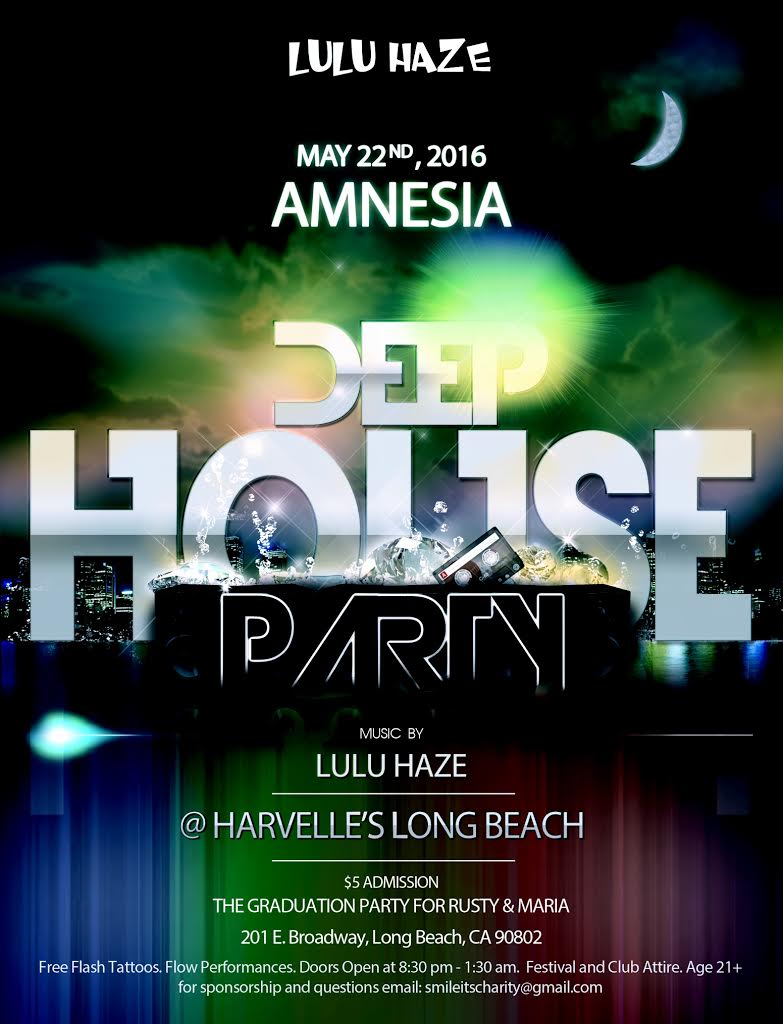 Amnesia deep house party harvelle 39 s long beach for Good deep house music