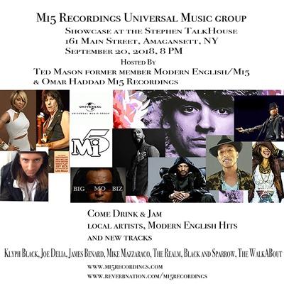 The Stephen Talkhouse :: The Mi5 Recordings/Universal Music