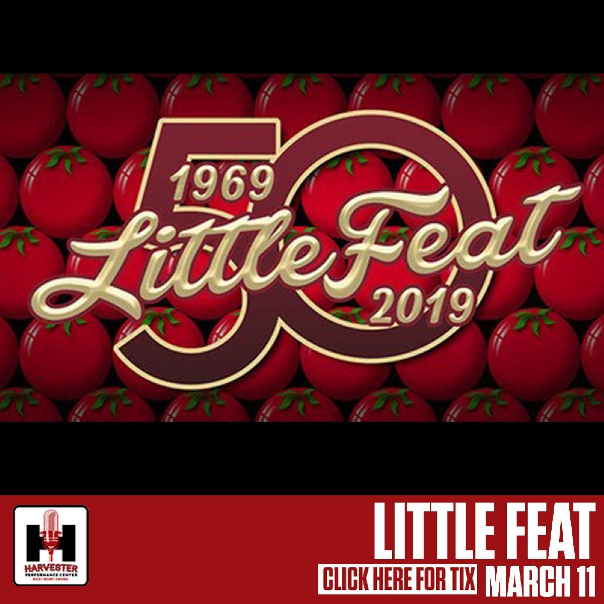Little Feat :: Harvester Performance Center