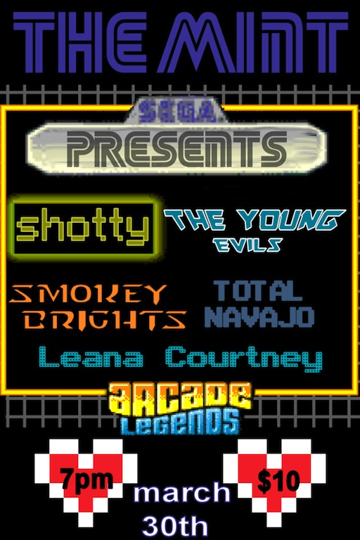 The Mint: Music Tickets :: The Young Evils / Smokey ...