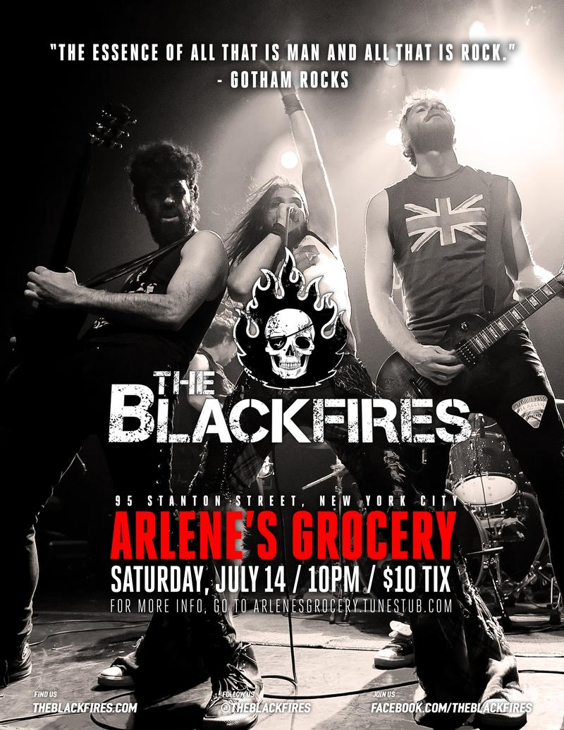 THE BLACKFIRES