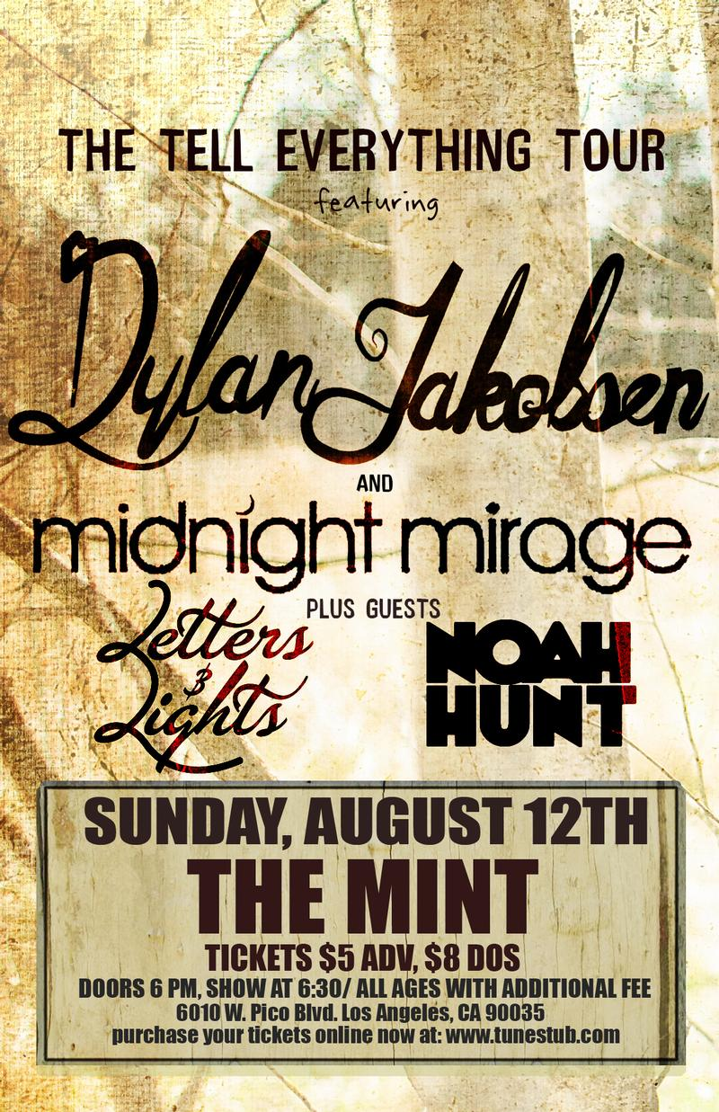 Midnight Mirage Taylor Mathews  Dylan Jakobsen  Letters and Lights Noah Hunt Matt Bancis