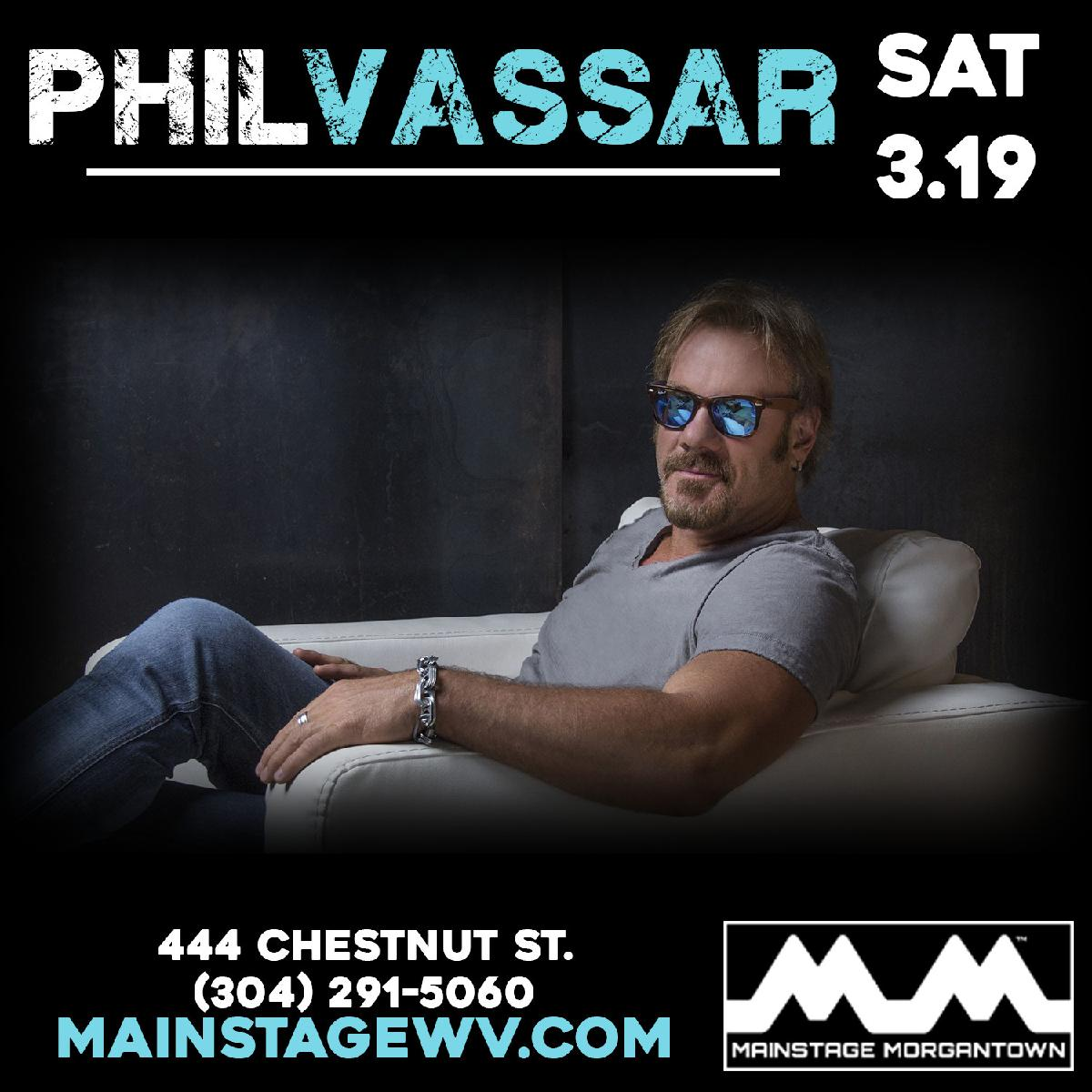 Phil Vassar at Mainstage Morgantown :: Mainstage Morgantown