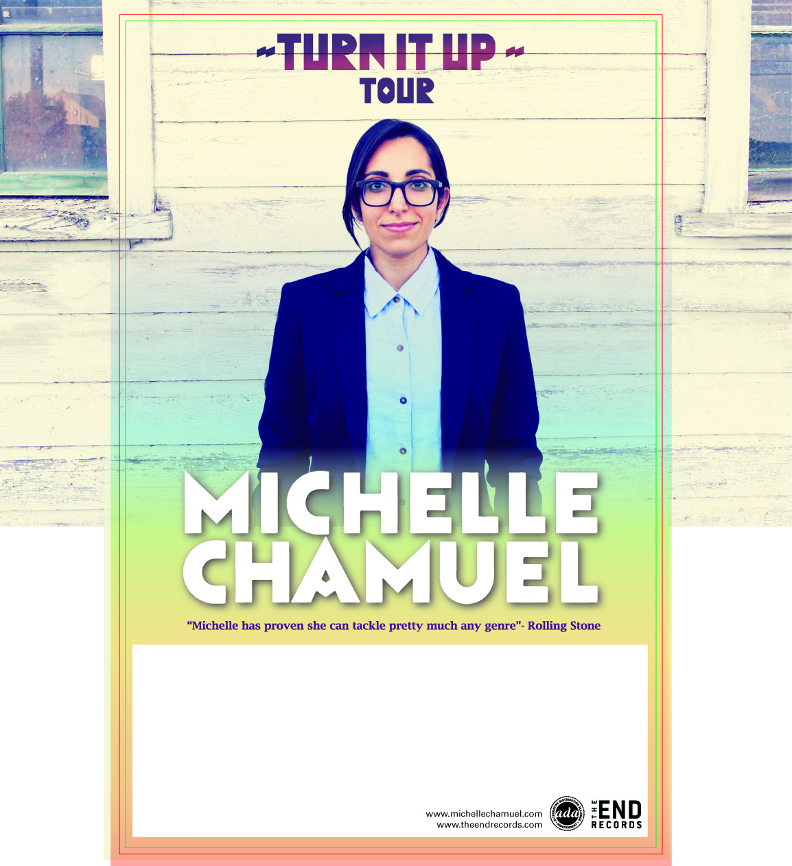 Michelle Chamuel  Turn It Up Tour  Early Show
