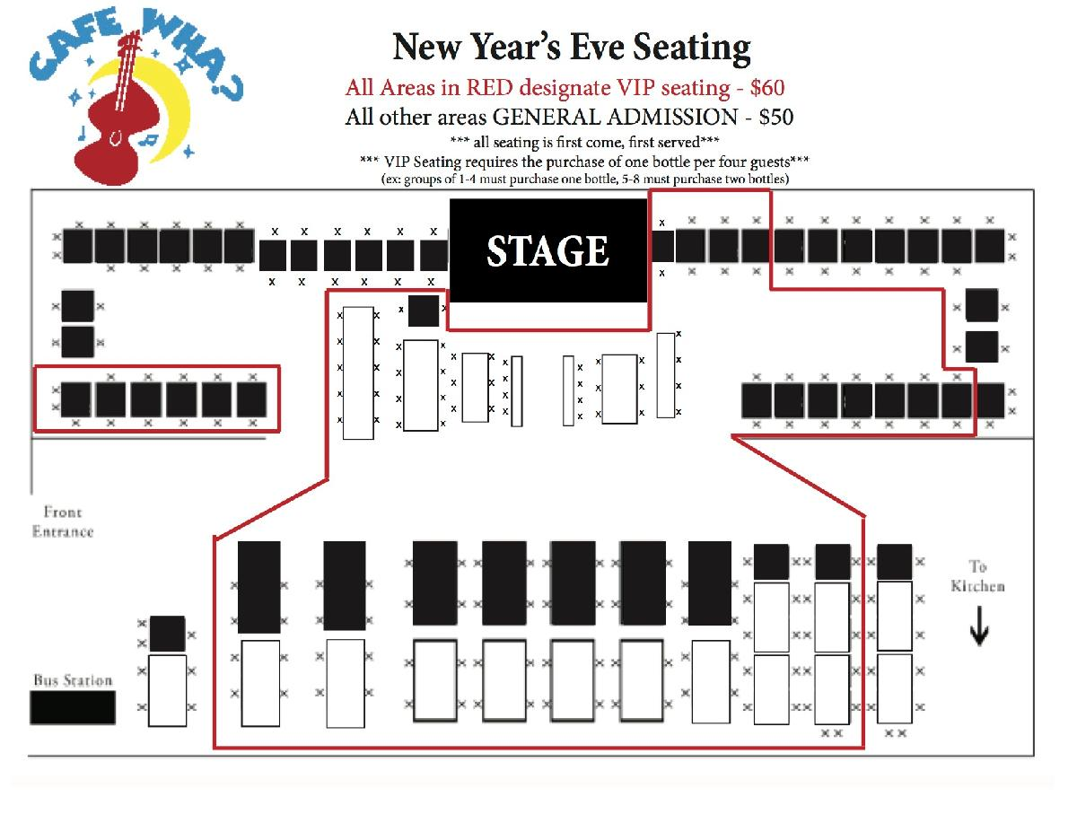Best Live Music in NYC :: New Year\'s Eve with the Cafe Wha? House Band