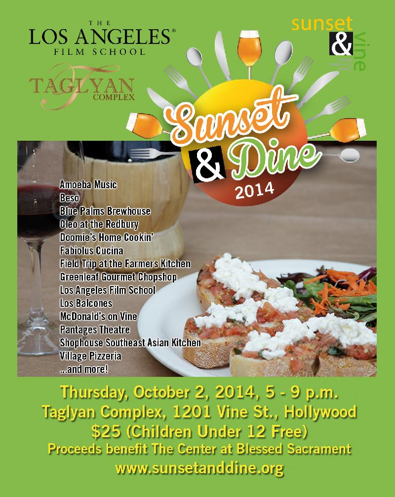 Sunset  Dine 2014