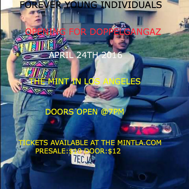 The Mint: Music Tickets :: The Doppelgangaz / Robin Harris ...
