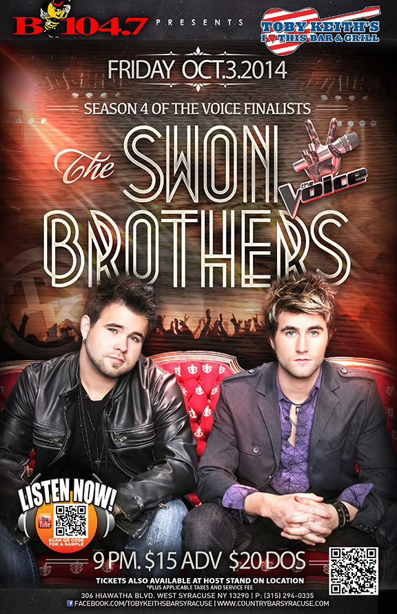 The Swon Brothers  Syracuse NY