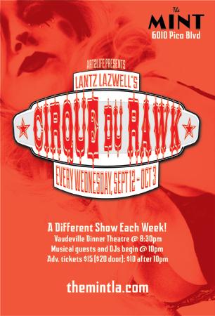 Lantz Lazwells Cirque Du Rawk