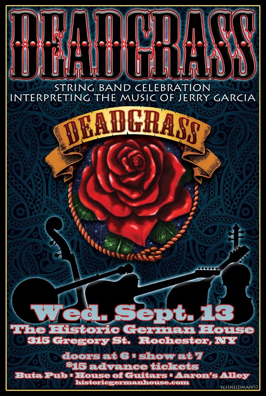 Deadgrass: A Bluegrass Grateful Dead Experience :: The Historic