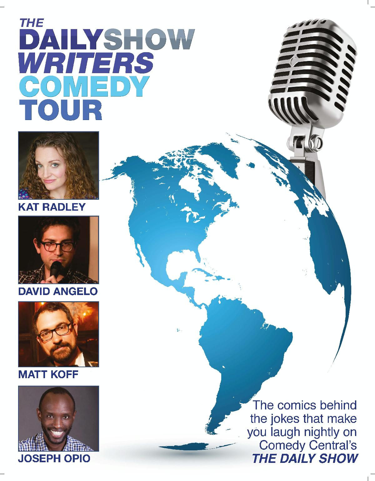 The Daily Show Episodes 2020.The Daily Show Writers Comedy Tour Harvester Performance