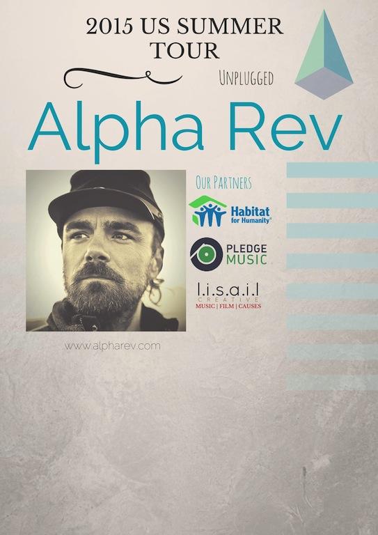 Alpha Rev Lead Singer