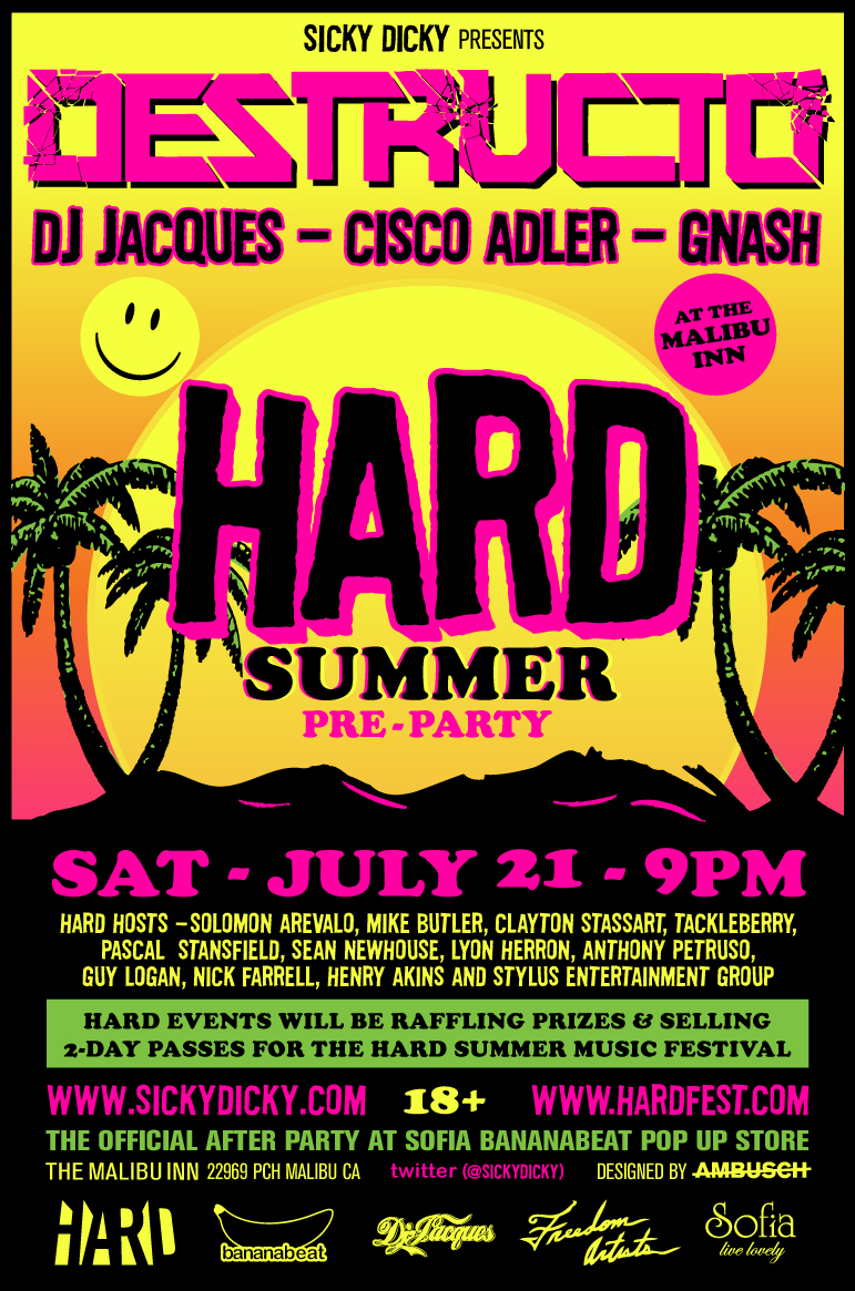 HARD SUMMER pre party