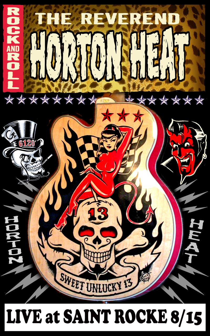 Reverend Horton Heat  Piata Protest and Zacc West