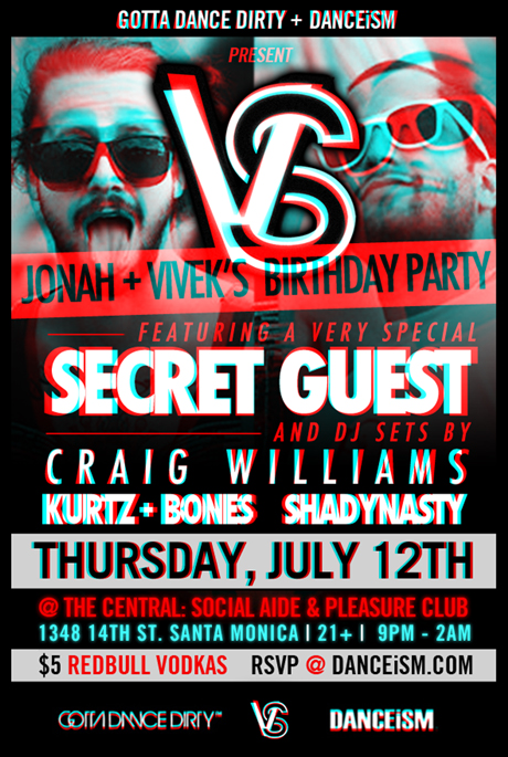 VERSUS Birthdays for Jonah  VIv w SECRET GUEST  by GottaDanceDirty and Danceism