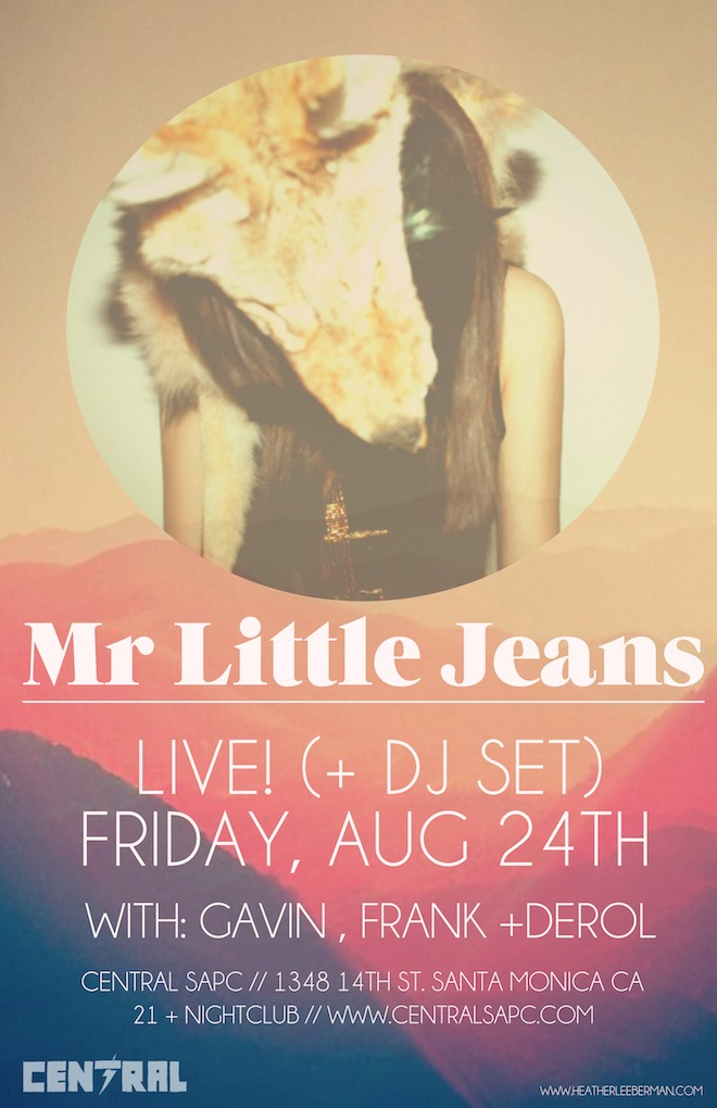 Mr Little Jeans live set  DJ set w Gavin and LA Girlfriend