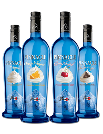 3 Pinnacle Vodka Drinks  All day