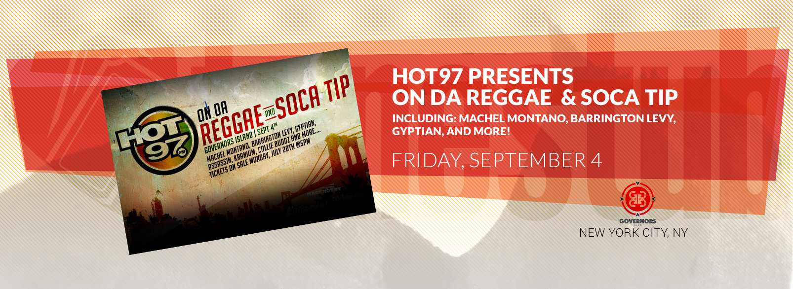Hot 97 Presents On Da Reggae and Socca Tip
