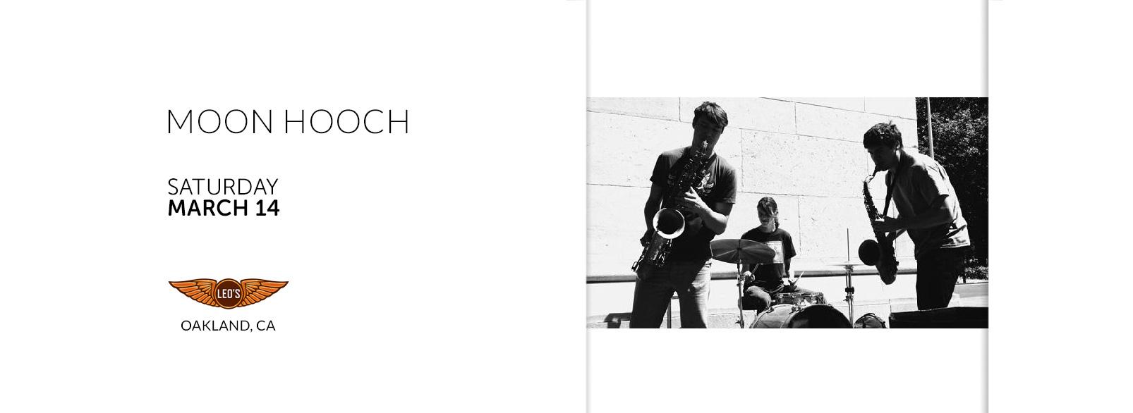 Moon Hooch @ Leo's Music Club