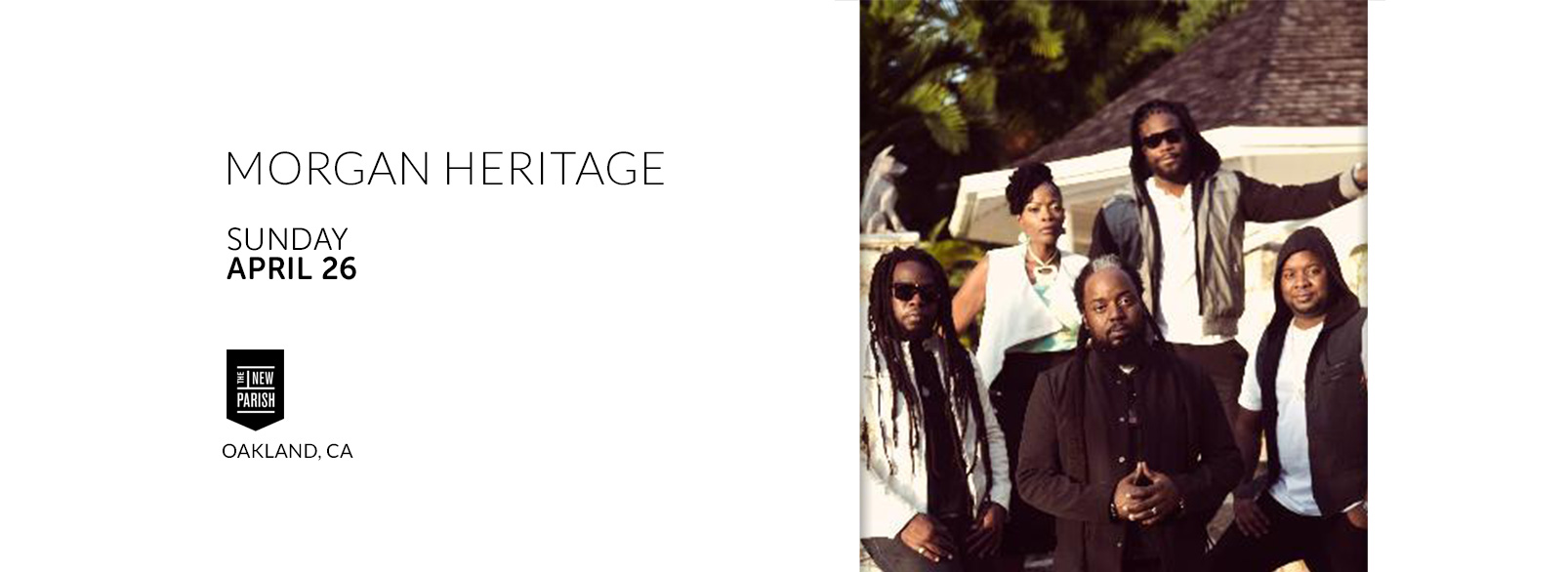 Morgan Heritage @ New Parish