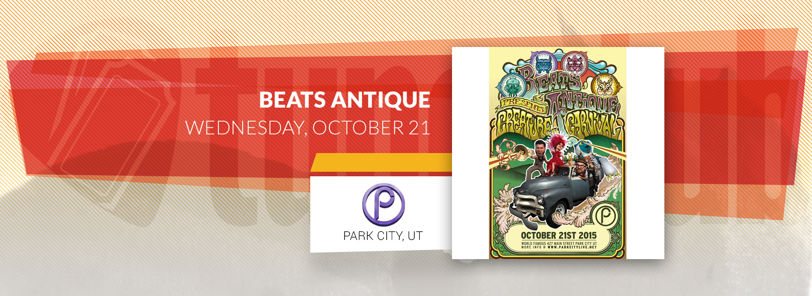 Beats Antique @ Park City Live