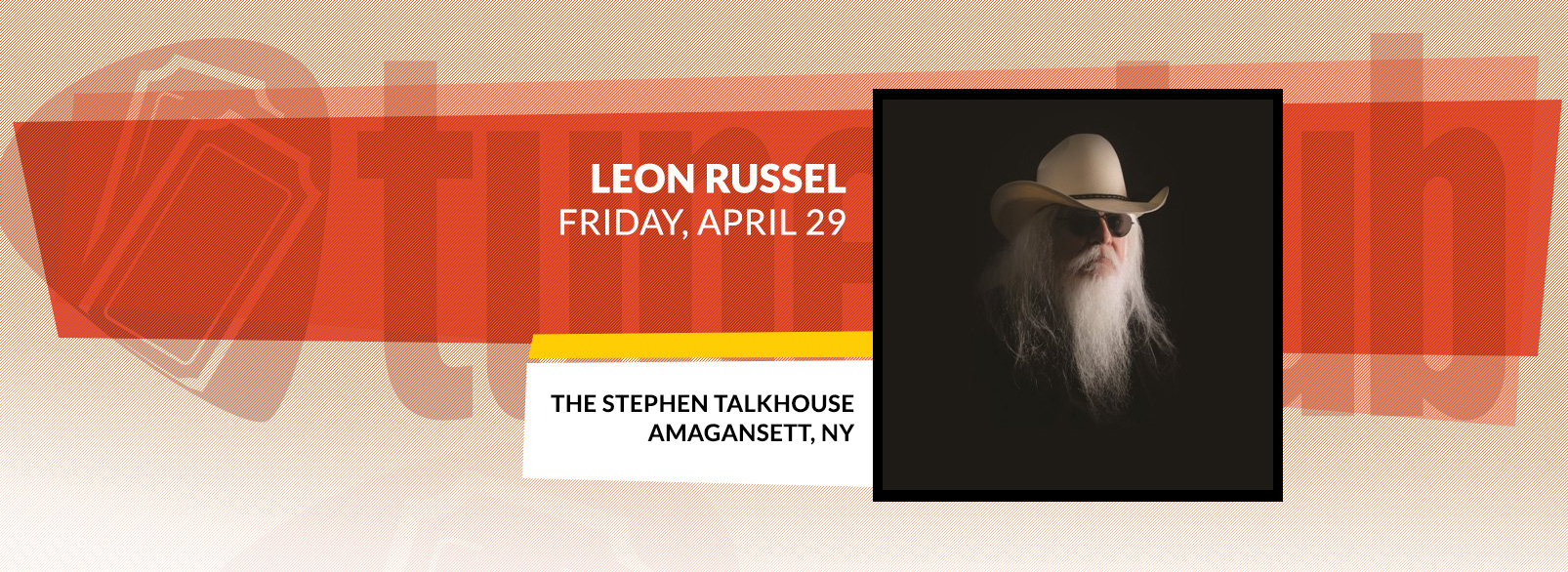 Leon Russell @ The Stephen Talkhouse