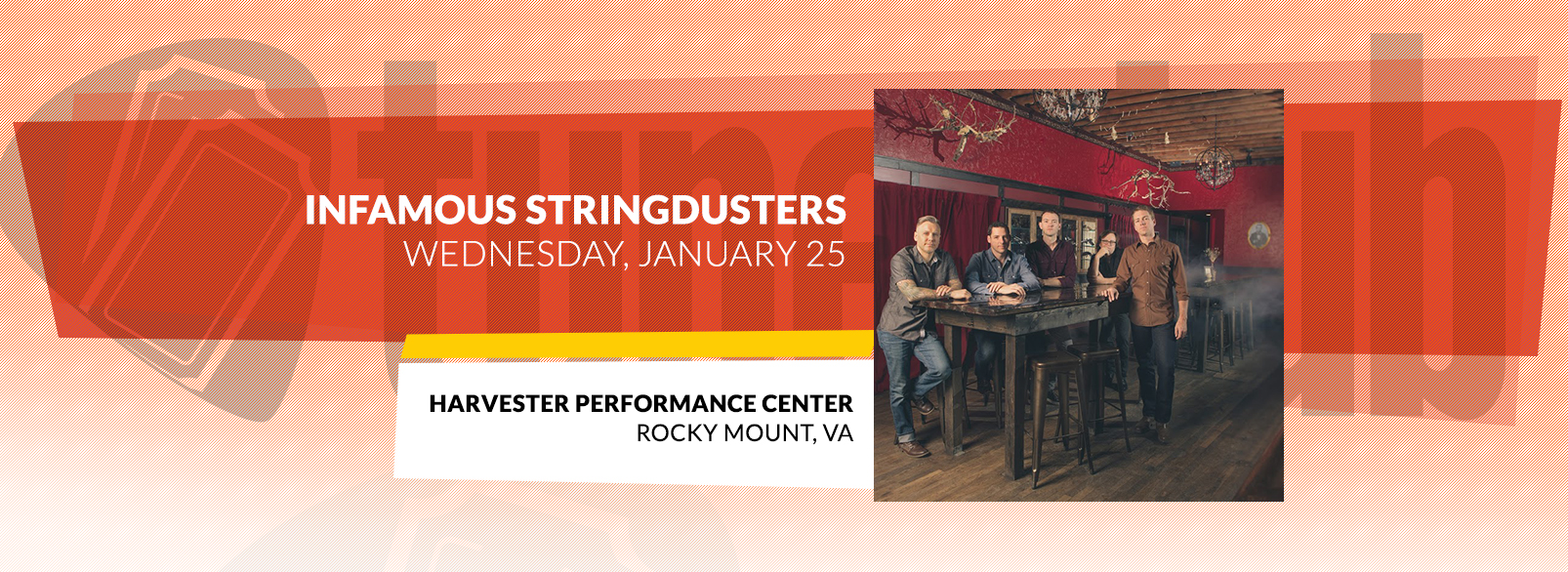 Infamous Stringdusters @ Harvester Performance Center