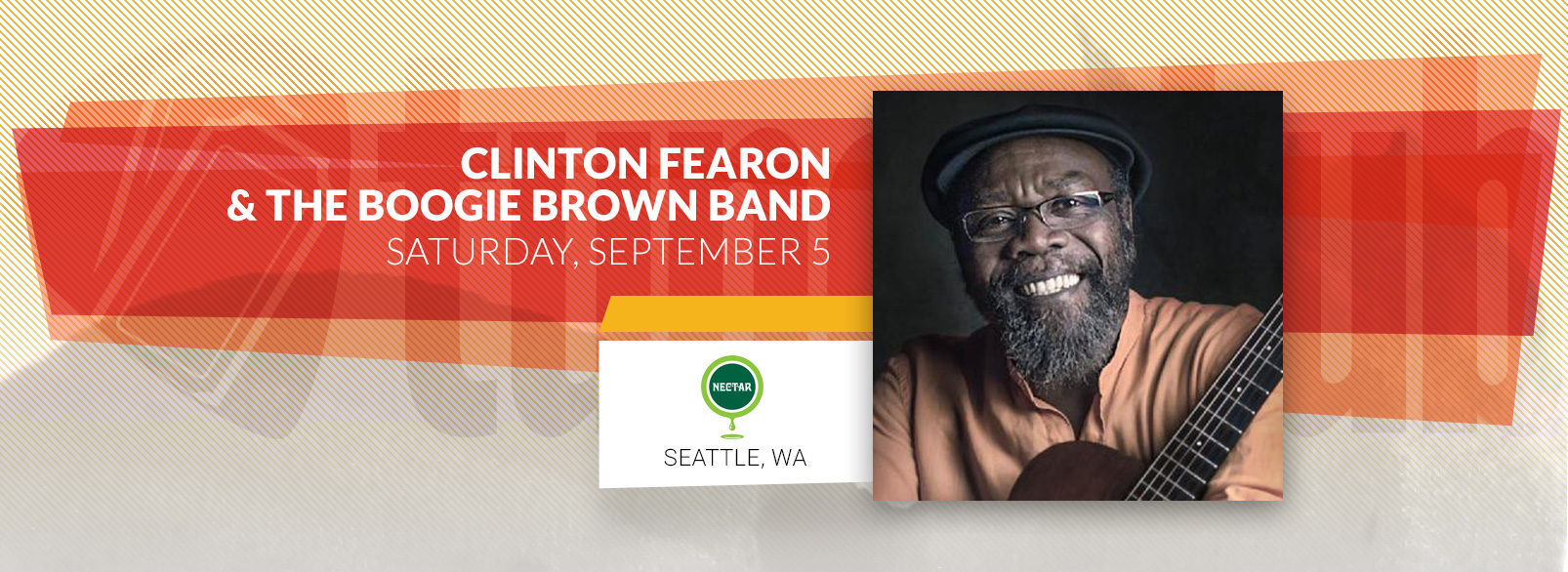 Clinton Fearon & The Boogie Brown Band