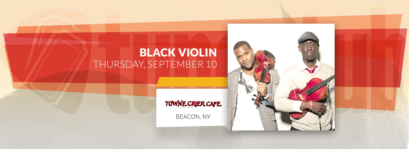 Black Violin @ The Towne Crier Cafe