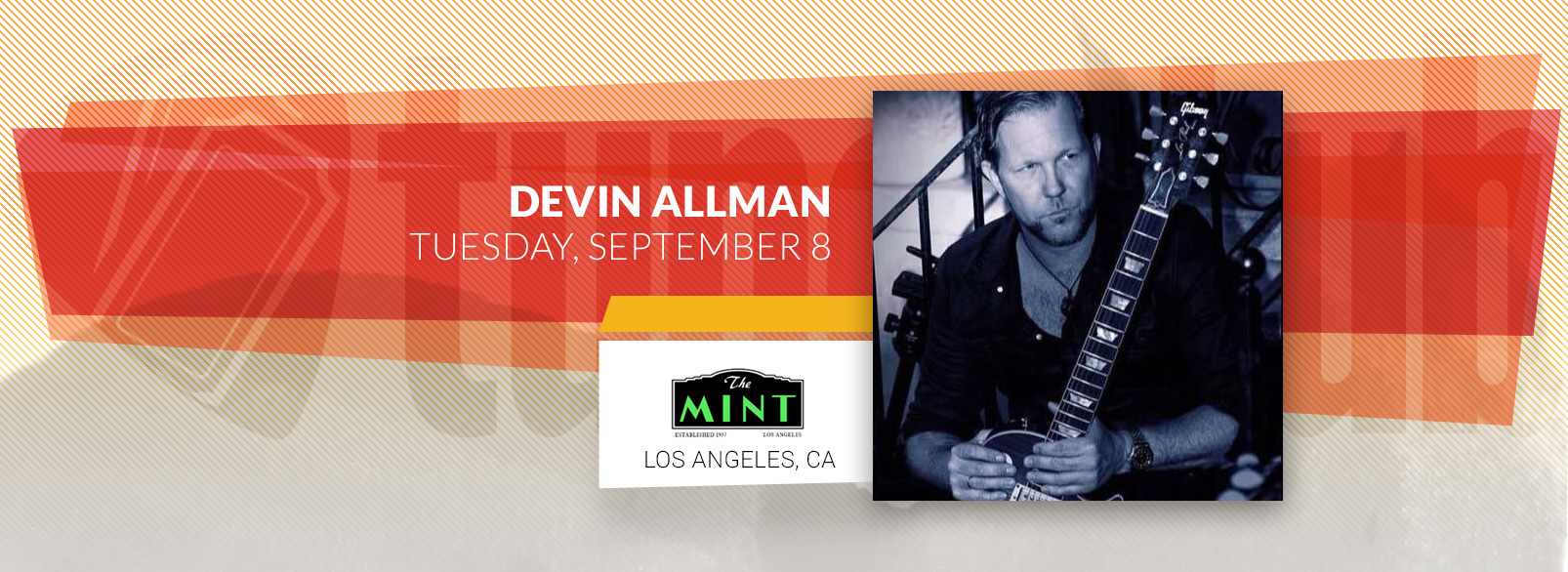 Devon Allman @ The Mint