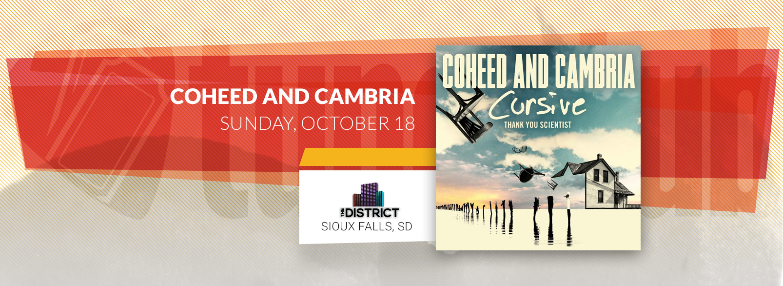 Coheed & Cambria @ The District