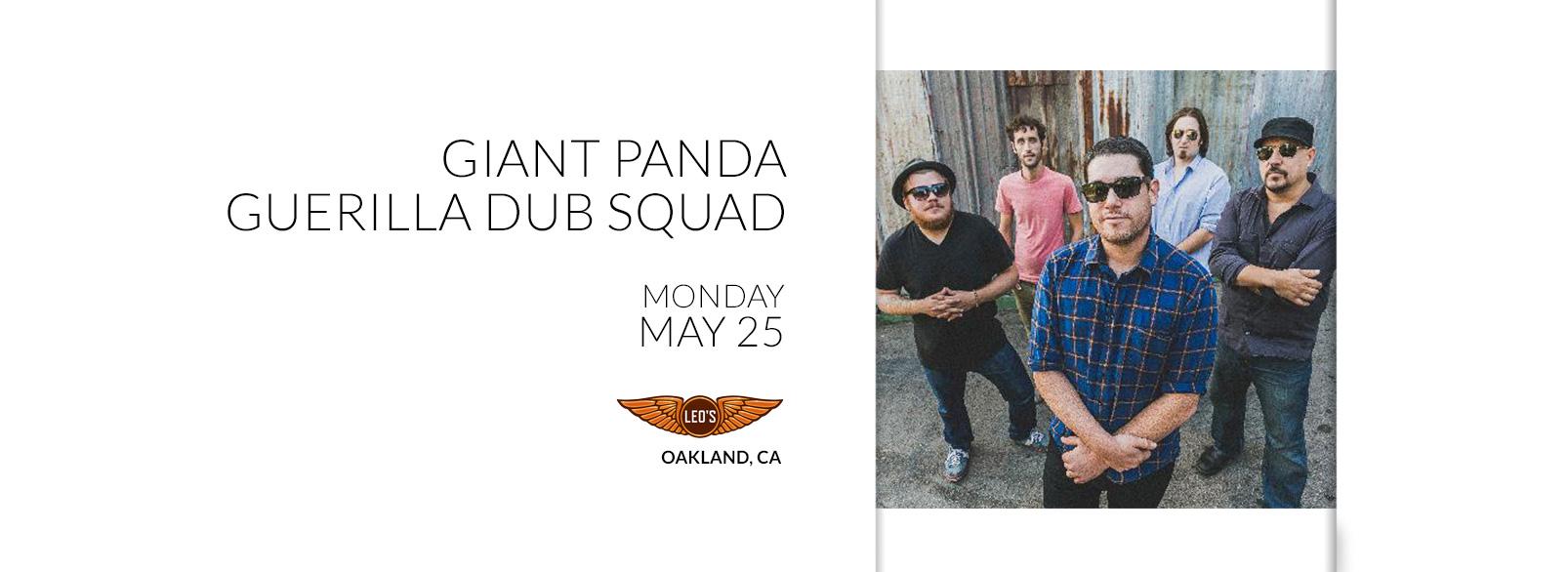 Giant Panda Guerilla Dub Squad @ Leo's
