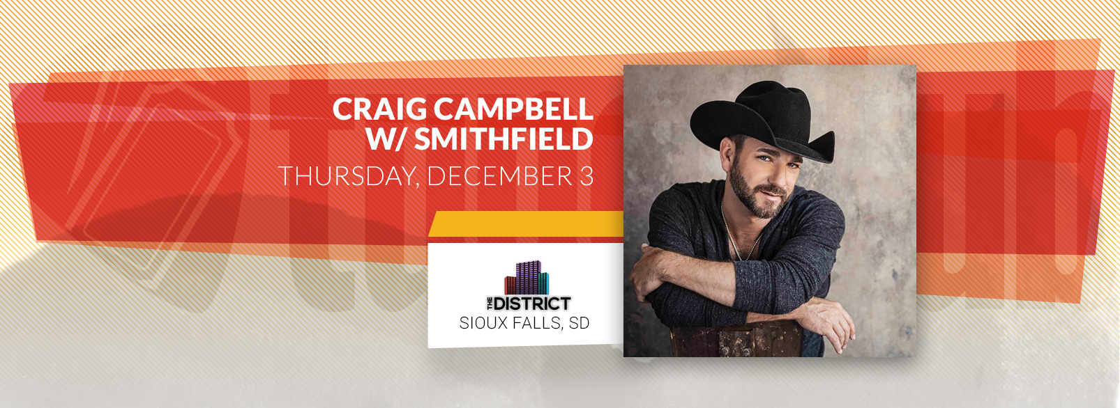 Craig Cambell w/ Smithfield @ The District