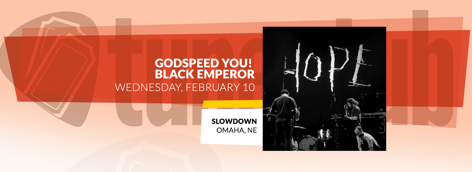Godspeed You! Black Emperor @ Slowdown