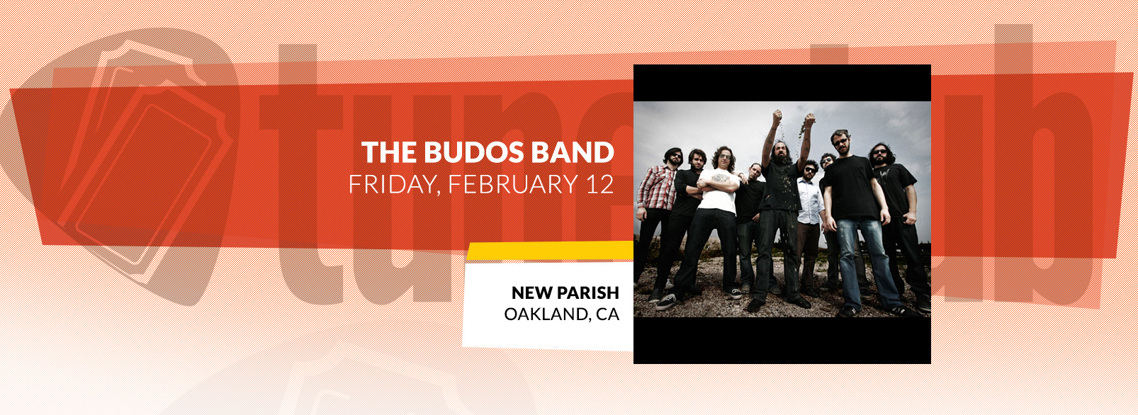 The Budos Band @ New Parish