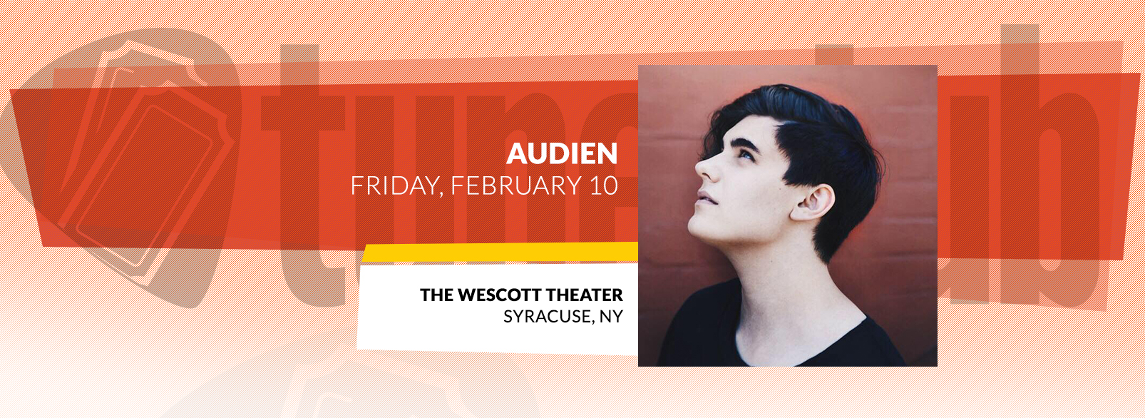 Audien @ The Westcott Theater