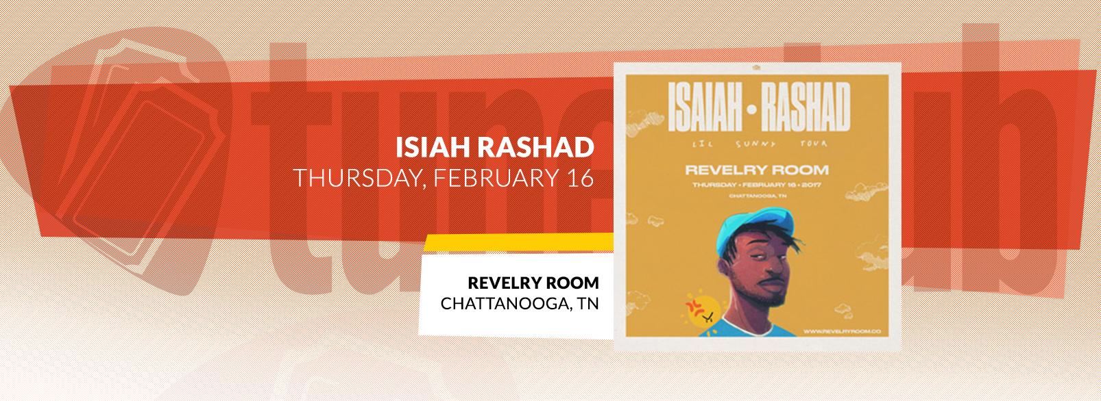 Isaiah Rashad @ Revelry Room