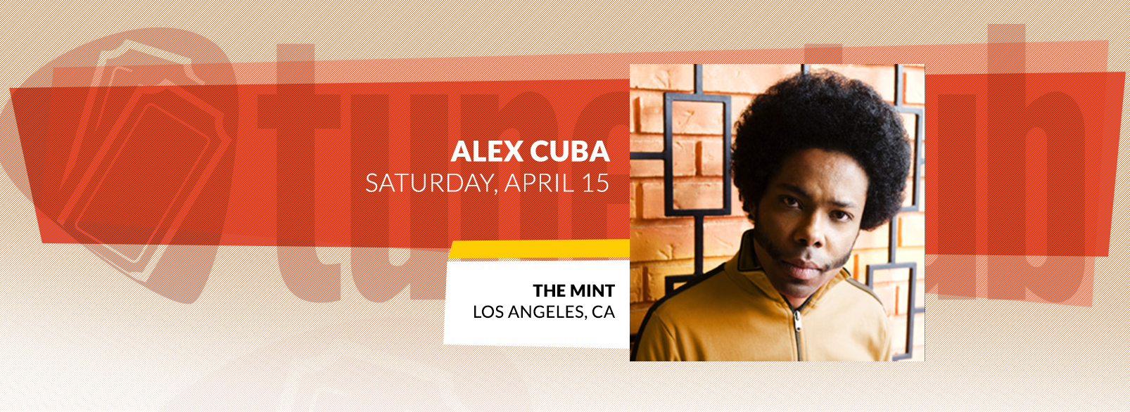 Alex Cuba @ The Mint