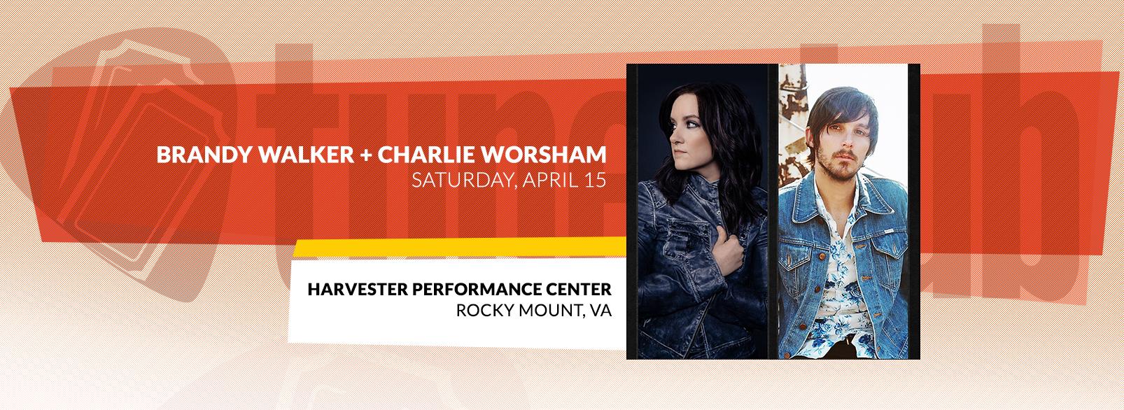 Brandy Clark & Charlie Worsham @ Harvester Performance Center